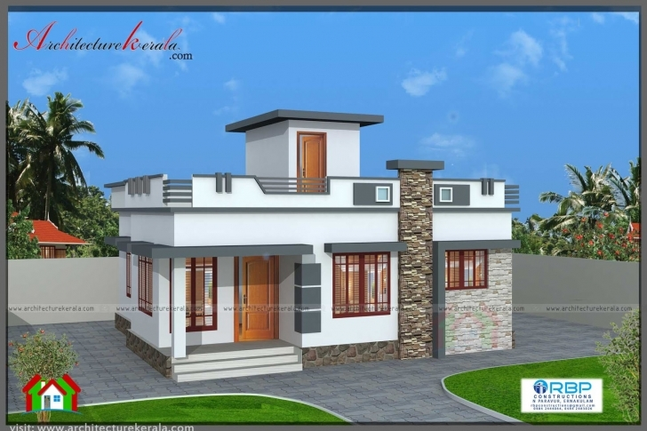 Stunning 700 Sqft Plan And Elevation For Middle Class Family - Architecture 1000 Sq Ft House Design For Middle Class Pic