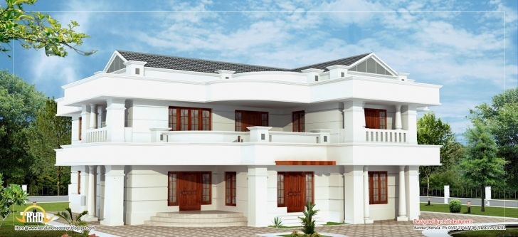 Stunning Beautiful 2 Story House Elevation - 3665 Sq. Ft. | Home Appliance Beautiful 2 Story Bungalow Picture