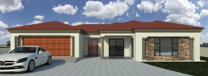 Stunning Bedroom Simple Decorations 3 House Plans With Double Garage Also Double Garage House Plan Pic