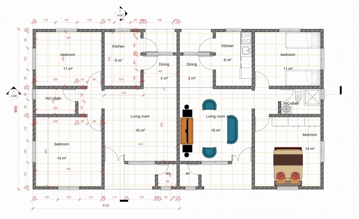 Stunning Four Bedroom House Plan In Nigeria Unique 3 Bedroom Flat House Plan 3 Bedroom Flat Plan And Design In Nigeria Picture