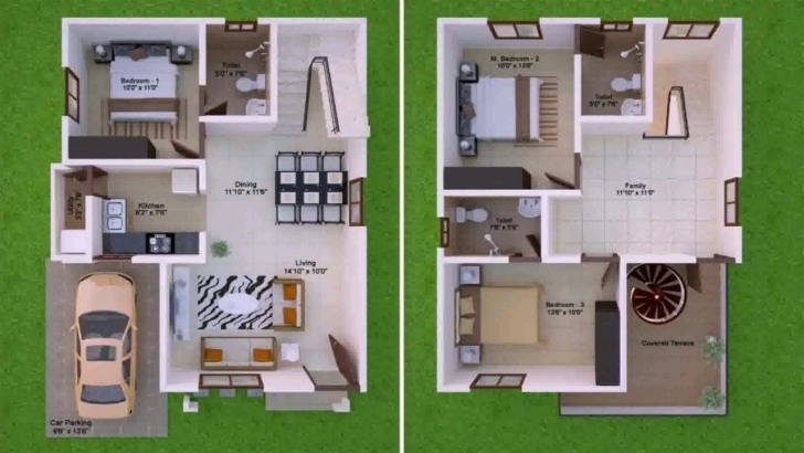 Stunning House Plan Design 15X50 - Youtube 15X50 House Map Pic