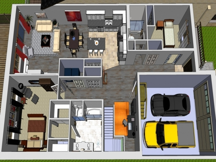 Stunning House Plan Modern Bungalow House Designs And Floor Plans With Garage Digital House Plans And Designs In Kenya Pic