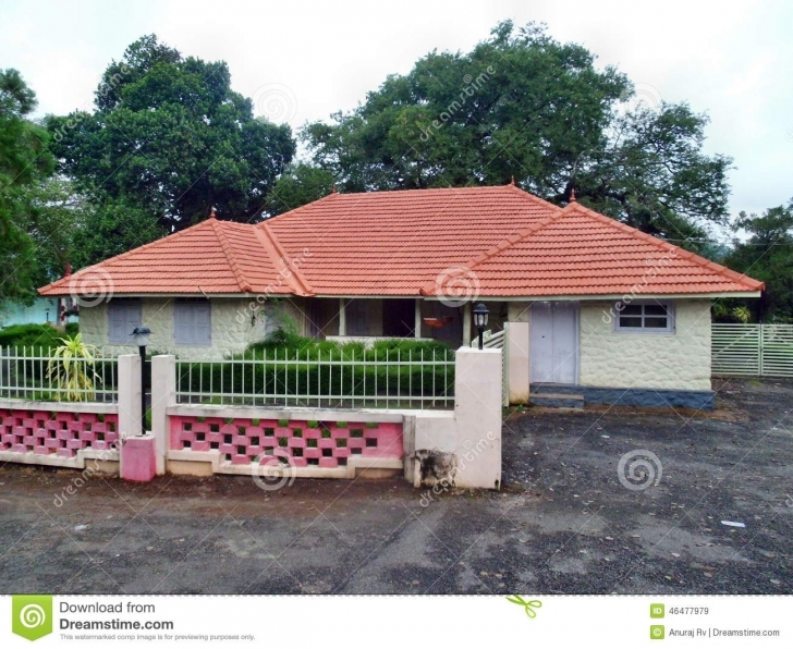 Stunning Kerala Model House Stock Image. Image Of Building, Road - 46477979 Kerala Model Home Hd Image Download Picture