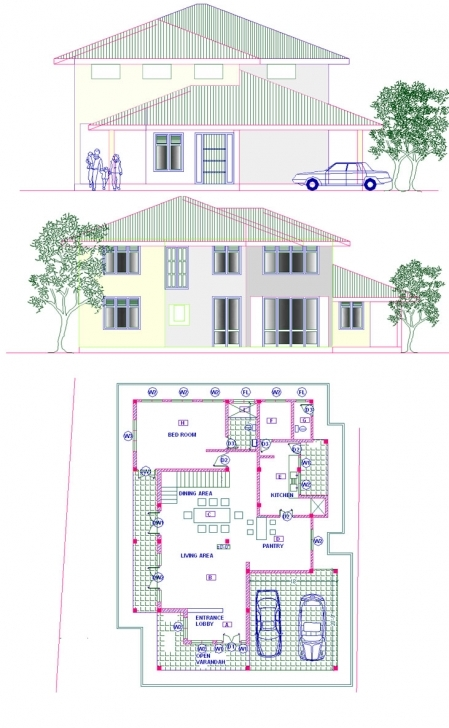 Stunning Modern Home Design: Architectural Home Designs In Sri Lanka Nairaland Architectural Floor Plans Picture