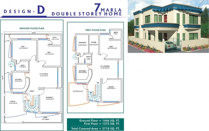 Stunning Pakistan Marla House Plan Design Further Map - Home Plans 6 Marla House Design Pictures In India Picture