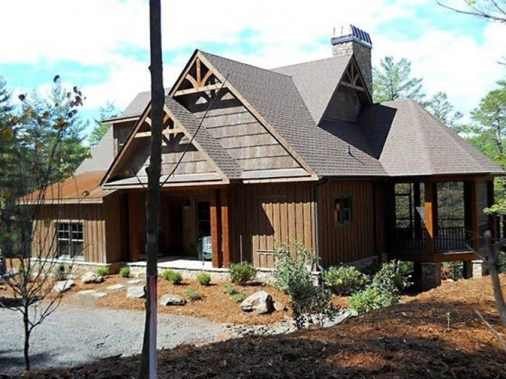 Stunning Rustic Mountain Home Designs | Home Design Ideas Contemporary Rustic Mountain Home Plans Pic