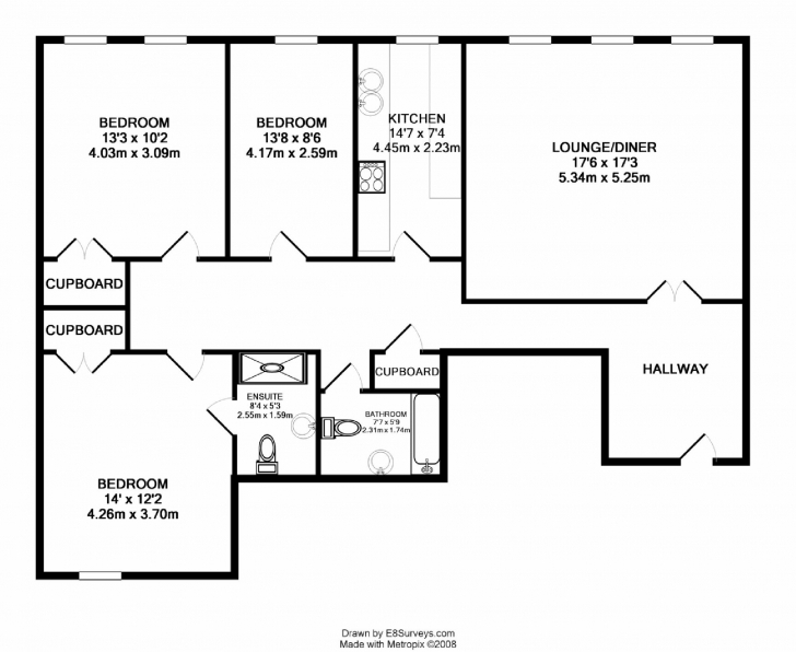 Stunning Three Bedroom Apartments Floor Plans For Popular Bedroom Flat House Three Bedroom Flat House Plan Photo