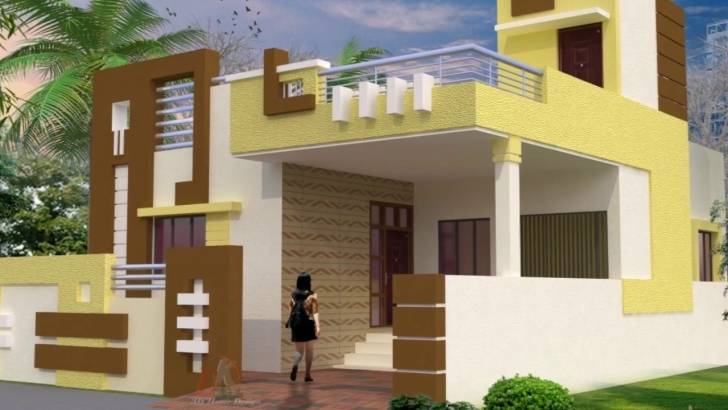 Top Home Elevation Design For Ground Floor With Designs Images, Small Front Elevation Of House Ground Floor Photo
