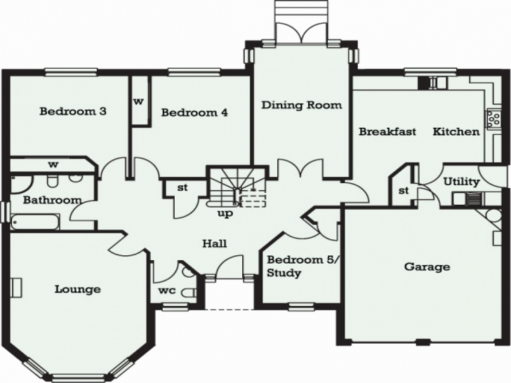 Top Large 5 Bedroom House Plans Uk Beautiful 5 Bedroom Bungalow In Ghana 5 Bedroom Bungalow Plans Uk Picture