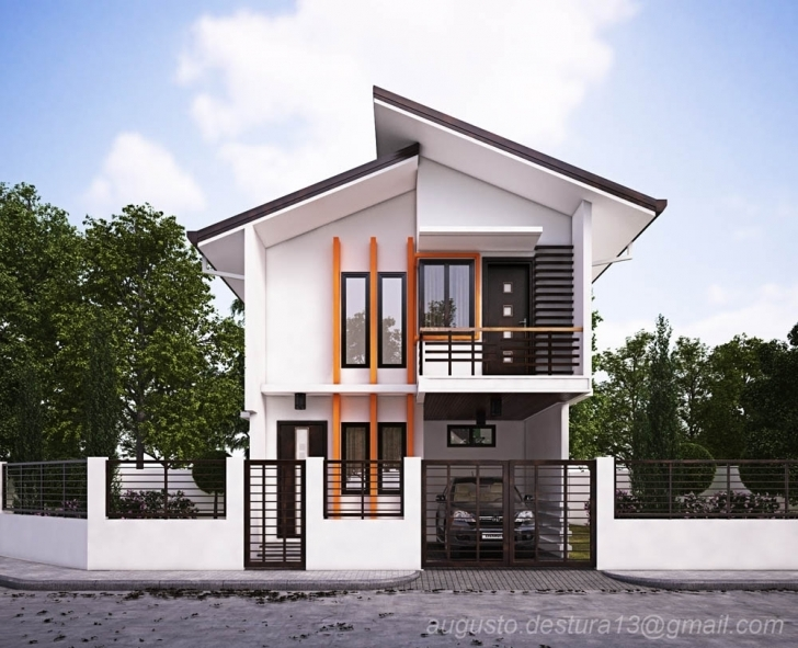 Top Modern House Design | Home Design Ideas New House Plans For 2018 Philippines Photo