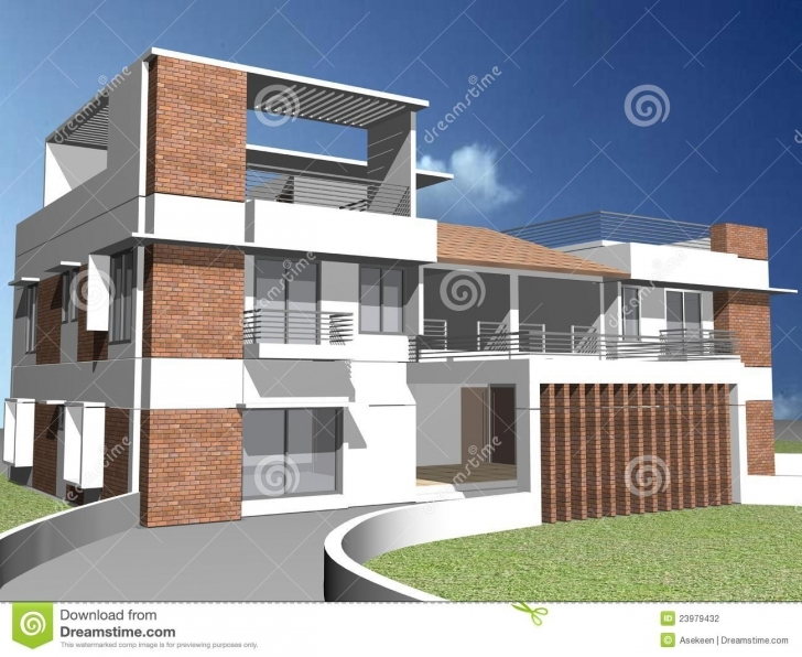 Top Photo of 3D Duplex House Stock Photo. Image Of Finance, Investment - 23979432 3D Pictures Of A Duplex Image