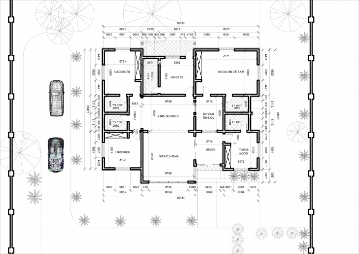 Top Photo of 4 Bedroom Bungalow Architectural Design Architectural Designs For 4 4N Bedroom Bungalow Architectural Design Photo