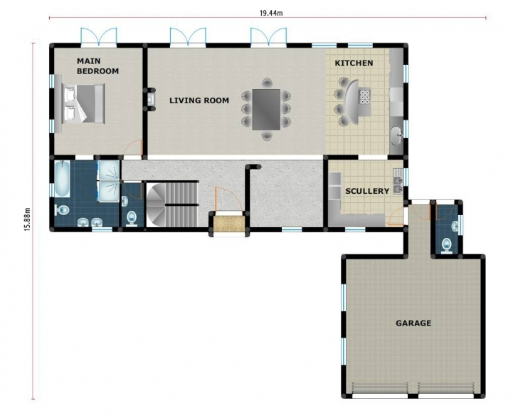 Top Photo of 5 Bedroom House Plans In South Africa Best Of Floor Plan 3 Bedroom 3Bedroom House Plan In South Africa Image