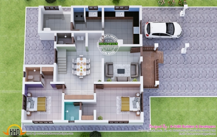 Top Photo of 92+ Kerala Home Design October 2015 - House Model Plans Tamilnadu New House Plans For October 2015 Image