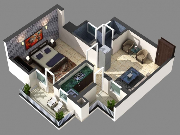 Top Photo of Awesome 1000 Sq Ft House Plans 2 Bedroom Indian Style — House Style 1000 Sq Ft House Plans Indian Style Photo