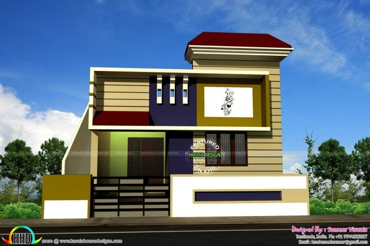 Top Photo of Awesome Modern House 2Bhk Including Bedroom Apartmenthouse Trends 2Bhk Indian House Pic Picture