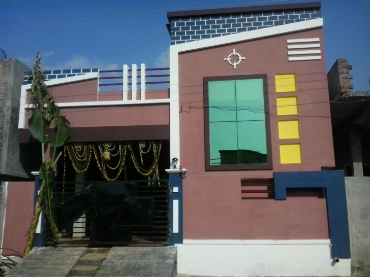 Top Photo of Beautiful Elevation For Single Floor Home - Gharexpert Single Floor House Elevations Photos Download Picture