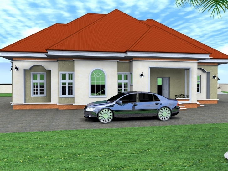 Top Photo of Glomorous Bungalow House Plans Bedrooms Bungalow House Plans Small 3 Bedroom House Plans In Nigeria Pic