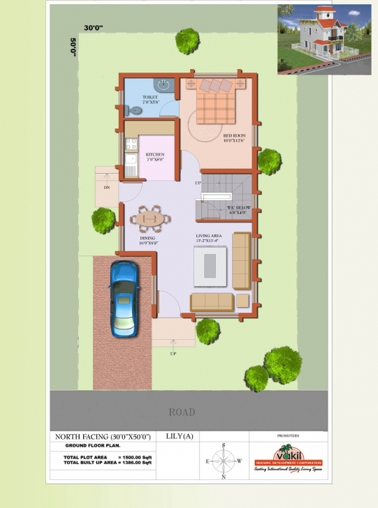 Top Photo of House Plan North Facing Best Of Marvellous 30X40 North Facing House North Face 30X40 Site Plan Pic