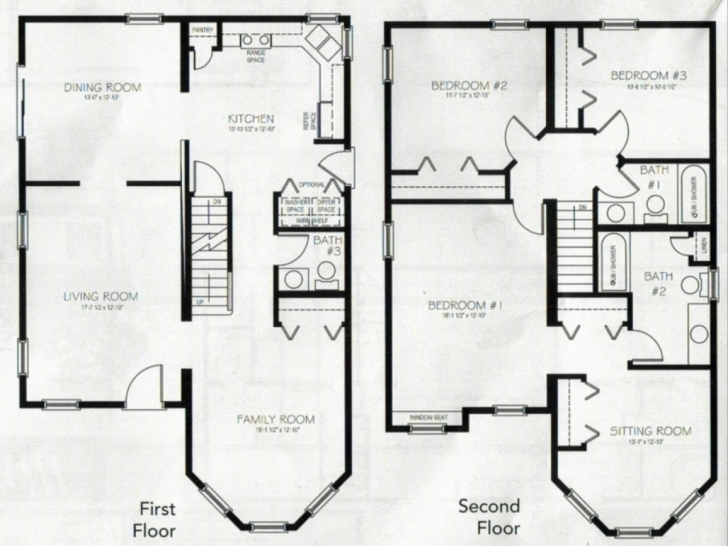 Top Photo of House Plans 4 Bedroom 2 Story (Photos And Video) | Wylielauderhouse Free Four Bedroom House Plans Pic