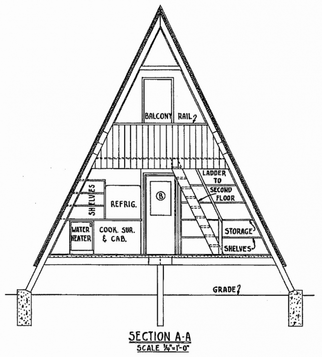 Top Photo of Houseans Low Cost Frame With Garage Underneath Bedroom Timber Tiny A Frame House Plans Cost Image