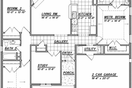1500 Sq Ft House Plans 2 Story
