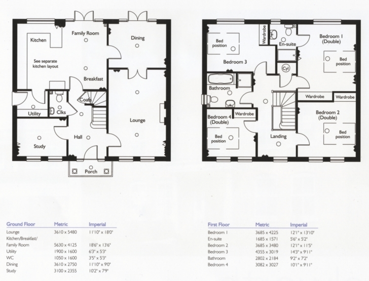 Top Plans For A 4 Bedroom House - Homes Floor Plans Building Plans For 4 Bedroom House Image