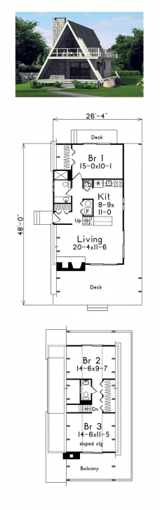 Wonderful 51 Best A-Frame House Plans Images On Pinterest | Architecture A Frame House Plans 3 Bedroom Photo