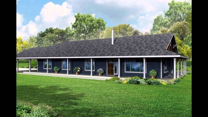 Wonderful House Plans With Wrap Around Porch - Youtube 4 Bedroom Wrap Around Porch Bungalow Image