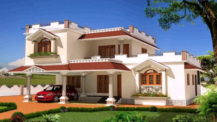 Wonderful Indian House Exterior Wall Design Ideas - Youtube Indian House Picture Picture