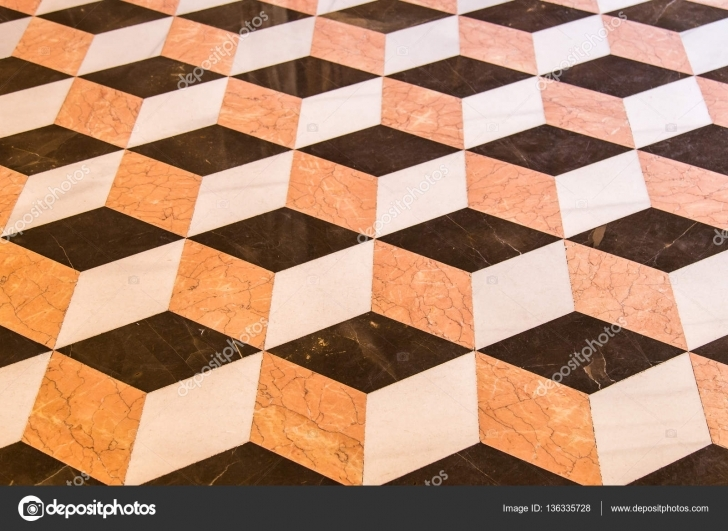 Wonderful Marble Floor Design — Stock Photo © Photoweges #136335728 Floor Marble With 3D Image