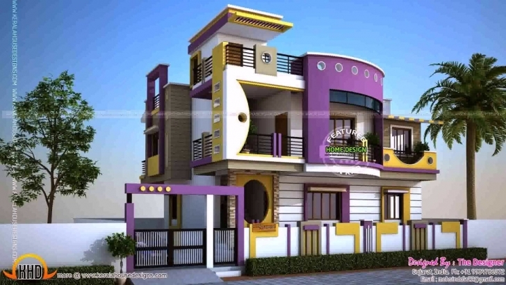 Wonderful Modern Indian House Plans With Photos - Youtube Modern Indian House Pic Picture