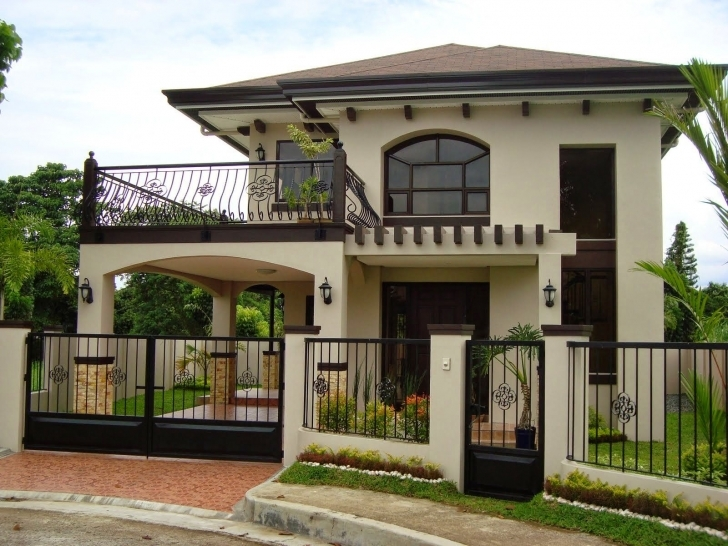 Wonderful Planning To Build Your Own House? Check Out The Photos Of These Beautiful 2 Story Bungalow Pic